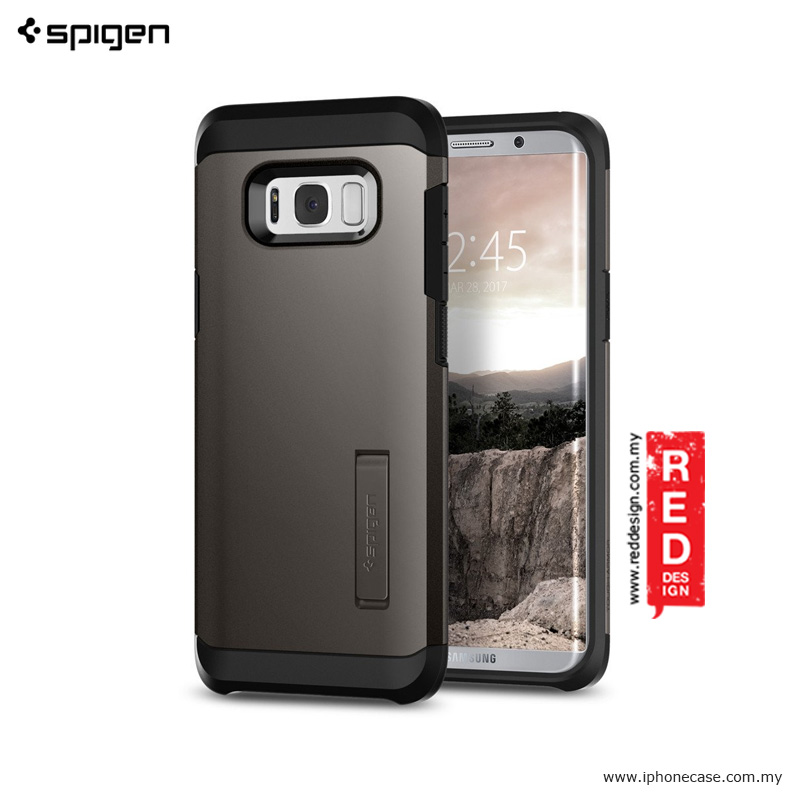 new product 9ddf7 0bc45 Spigen Tough Armor Protection Case for Samsung Galaxy S8 - Gunmetal
