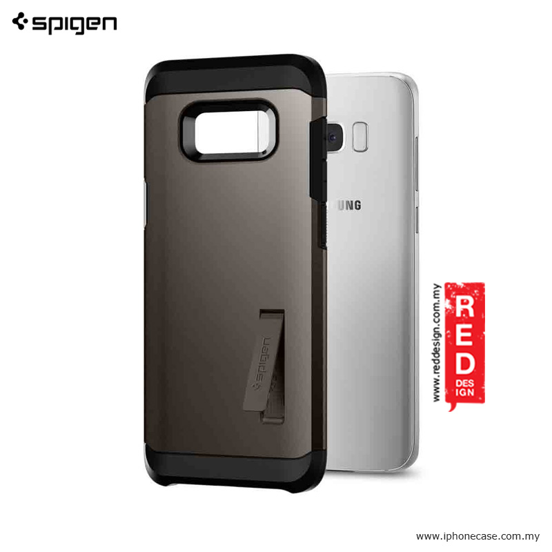 new product 93743 dae26 Spigen Tough Armor Protection Case for Samsung Galaxy S8 - Gunmetal