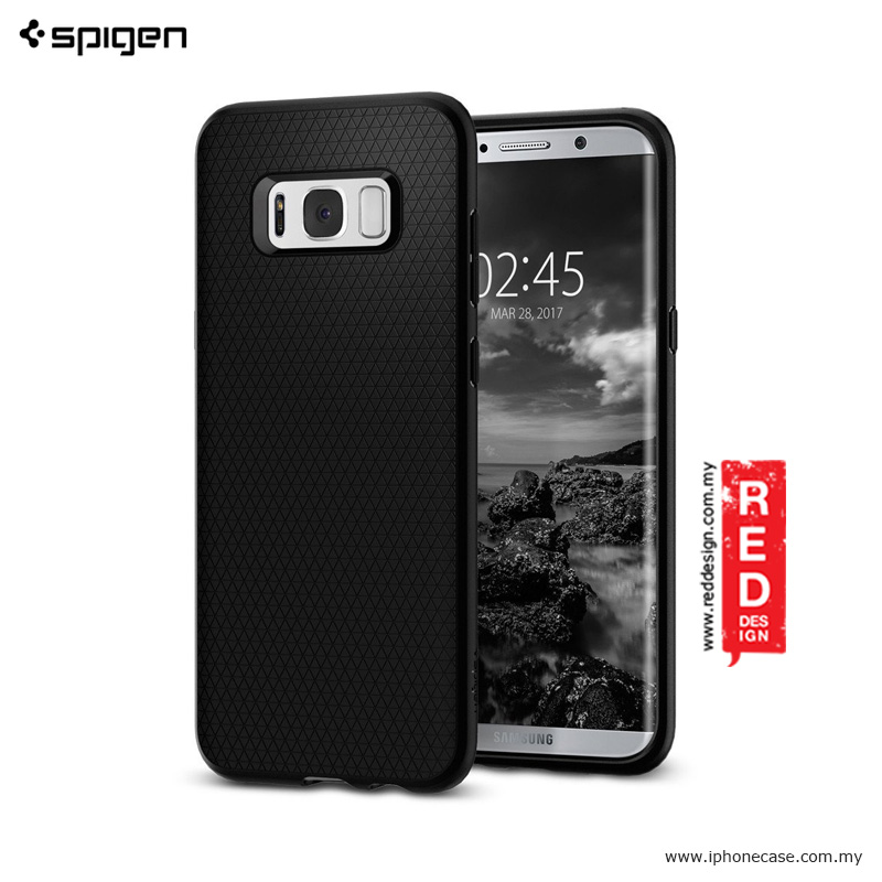 sports shoes b8151 11f33 Spigen Liquid Air Armor Protection Case for Samsung Galaxy S8 Plus- Black