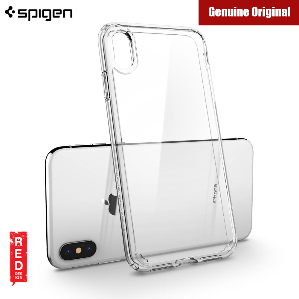 best website a1657 3d208 Spigen Ultra Hybrid Protection Case for Apple iPhone XS iPhone X (Crystal  Clear)