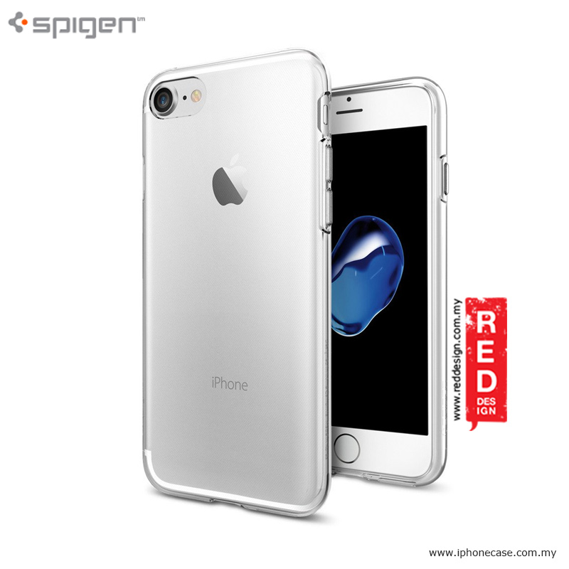 promo code c7e09 635fd Spigen Liquid Crystal Thin TPU Soft Case for iPhone 7 iPhone 8 4.7 - Clear