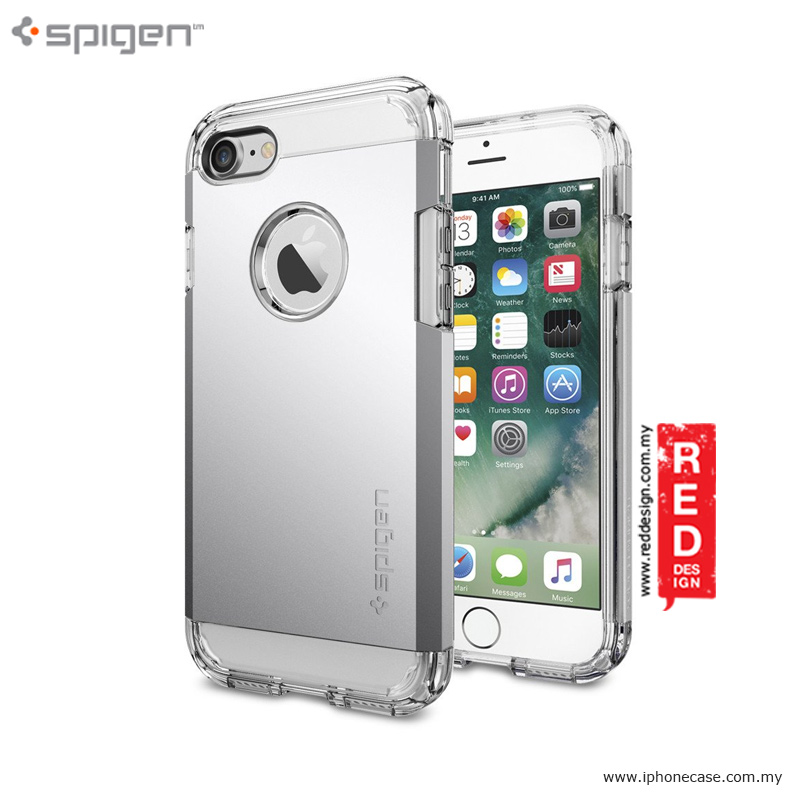newest 7216a fdbf4 SPIGEN Tough Armor Case Drop Proof Protection Case for iPhone 7 iPhone 8  4.7 - Satin Silver
