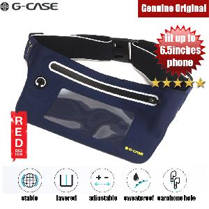 Picture of Gcase Niki Series Sport Waist Bag with Window Compatible with Samsung Galaxy Note 9 Huawei P20 Pro iPhone XR XS XS Max (Black)