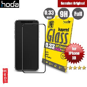 Picture of Apple iPhone XR Screen Protector | Hoda 0.33mm Full Coverage Privacy Tempered Glass Screen Protector for Apple iPhone XR 6.1