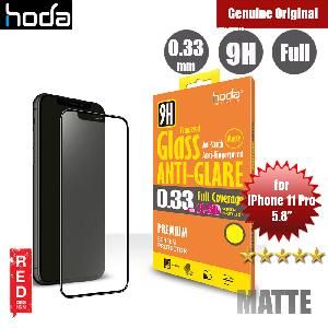 Picture of Apple iPhone 11 Pro 5.8 Screen Protector | Hoda 0.33mm Full Coverage Tempered Glass Screen Protector for Apple iPhone 11 Pro 5.8  (Black)