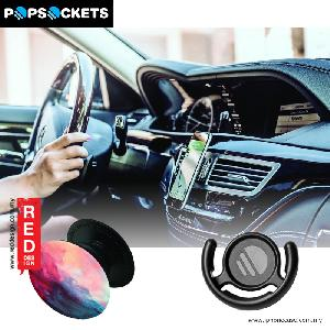 Picture of Popsockets A Phone Grip A Phone Stand An Earbud Management System - Bull Feathers with Popclip