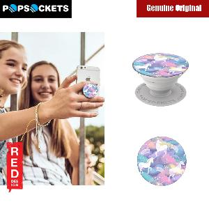 Picture of Popsockets A Phone Grip A Phone Stand An Earbud Management System - White Marble with Popclip