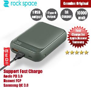 Picture of Rock Space P65 Mini PD Power Bank Support QC3 FCP 10000mah (Navy)