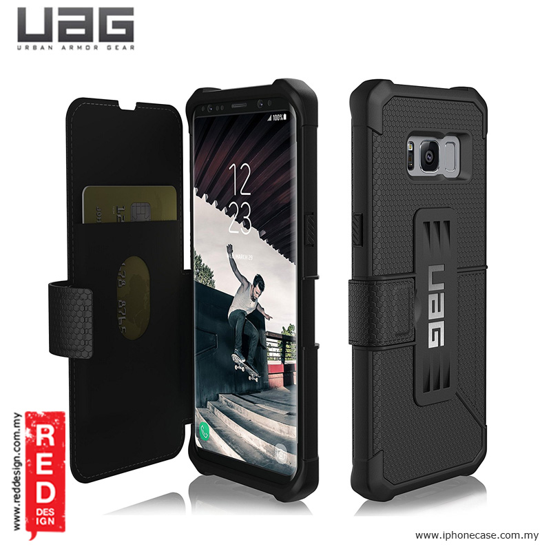 outlet store a0895 eee09 UAG Metropolis Series Military Grade Protection Case for Samsung Galaxy S8  - Black
