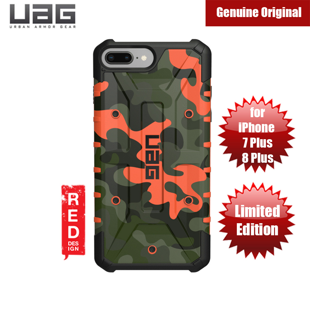 new arrival b7153 81118 UAG Pathfinder Camo Series Case for Apple iPhone 6S Plus iPhone 7 Plus  iPhone 8 Plus (Hunter)