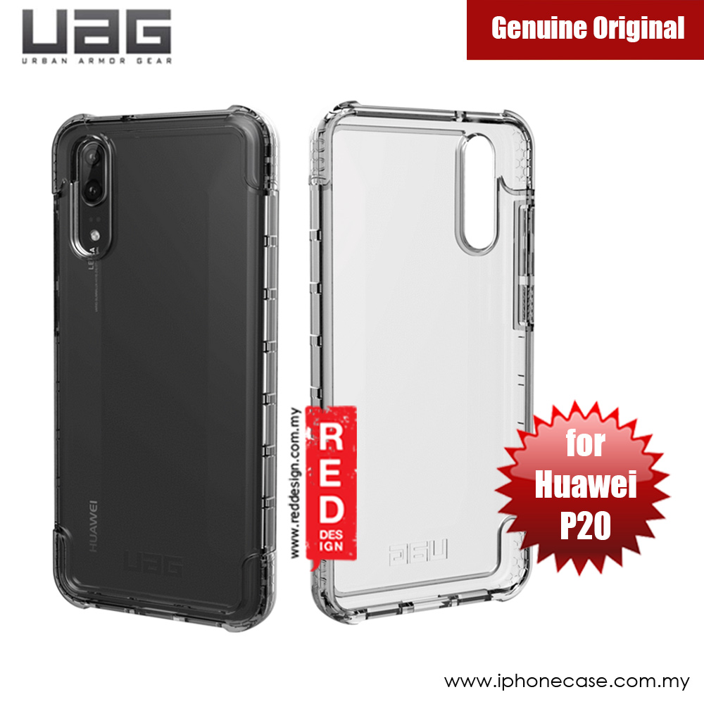 san francisco dfad6 23184 UAG Plyo Series Military Grade Protection Case for Huawei P20 (Ice Clear)