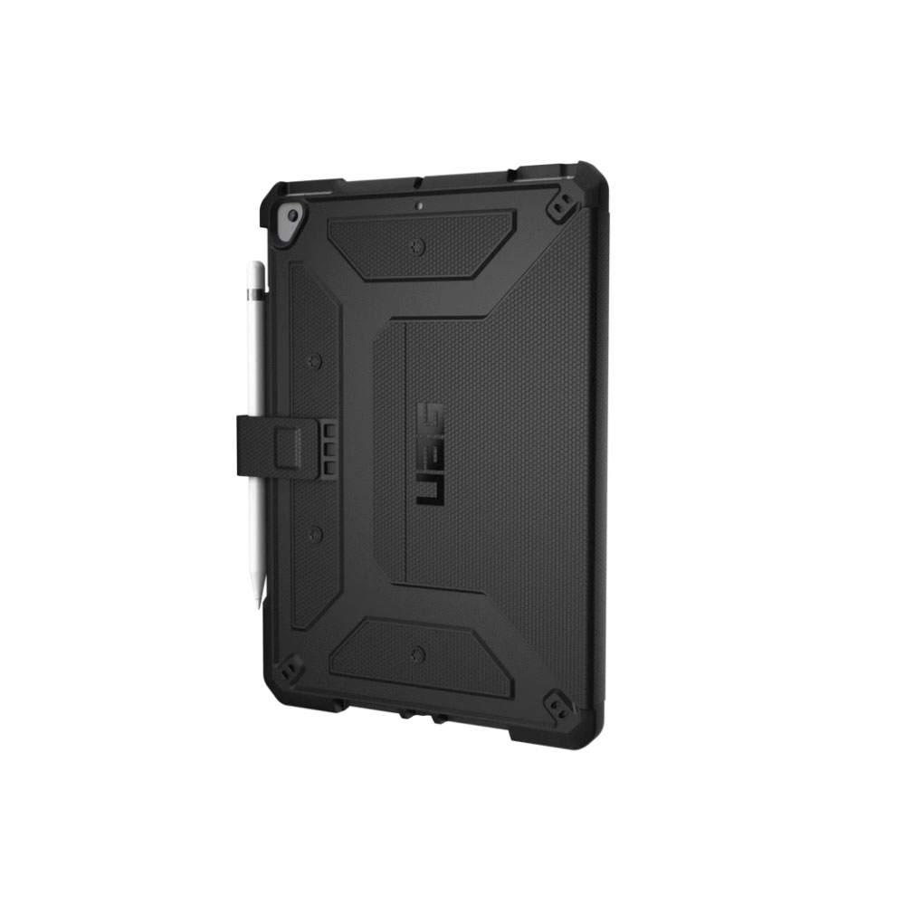 Picture of Apple iPad 10.2 2019 Case | UAG Metropolis Series Rugged and Lightweight Protection Case for Apple iPad Air 10.2 2019 (Black)