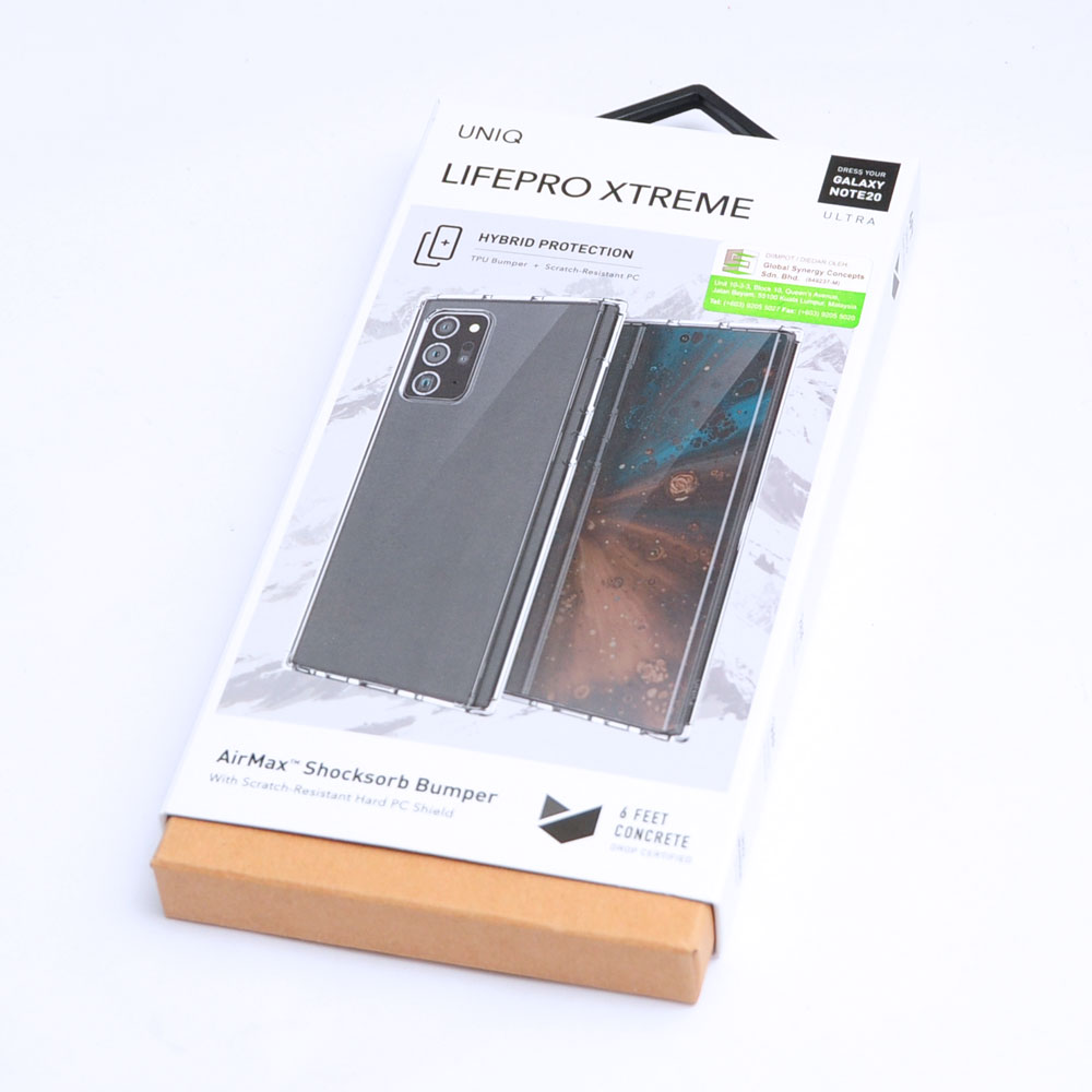 Picture of Samsung Galaxy Note 20 Ultra Case | Uniq Lifepro Extreme Protection Case for Samsung Galaxy Note 20 Ultra 6.9 (Clear)