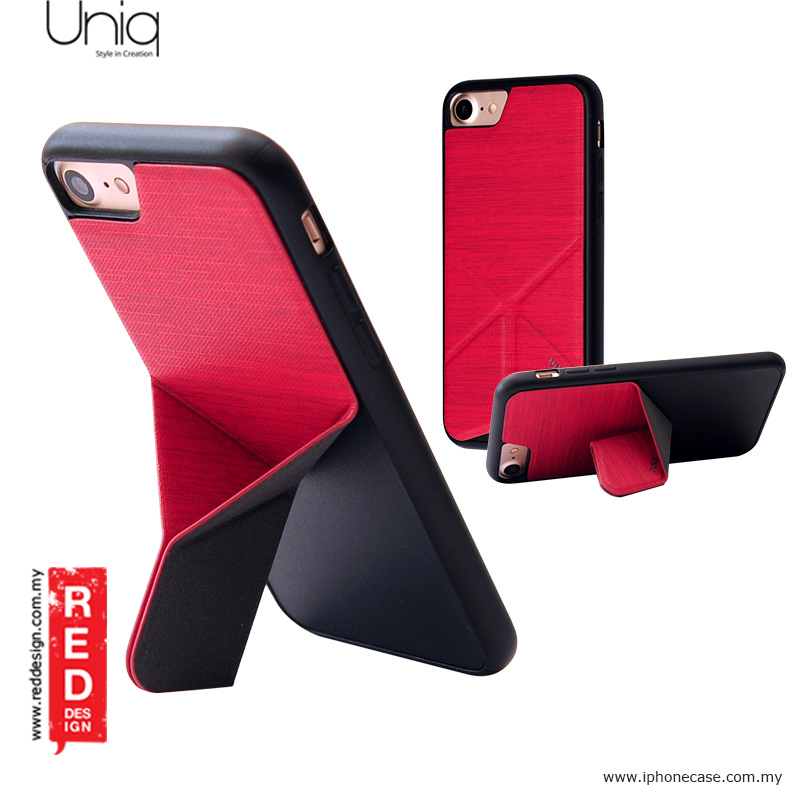 new concept 0396d 99bd8 Uniq Transforma Ligne Stand Case for Apple iPhone 7 iPhone 8 4.7 - Red