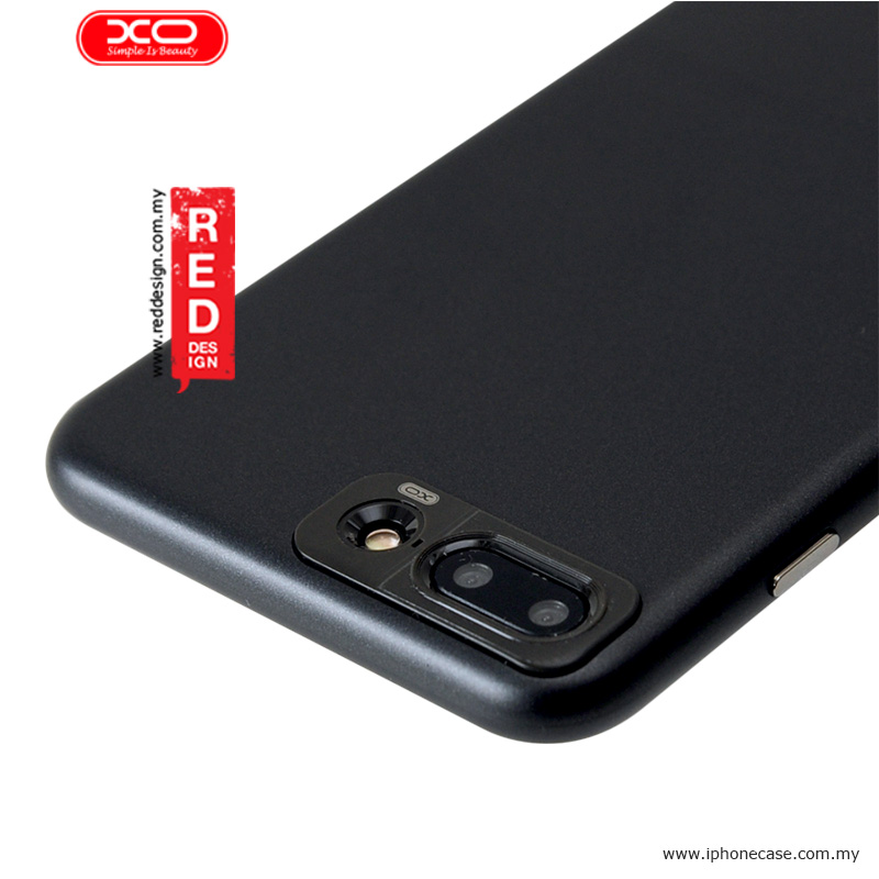 new style 99f0b 1a8cb XO Sui Bian Series Slim Slide Case for Apple iPhone 7 Plus iPhone 8 Plus  5.5 - Black