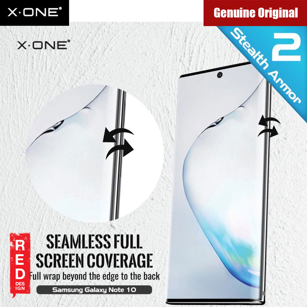 Picture of Samsung Galaxy Note 10 Screen Protector | X.One Stealth Armor 2 Full Screen Coverage PET Screen Protector For Samsung Galaxy Note 10