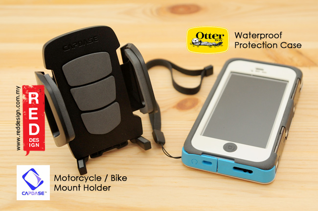 Motorcycle and Bicycly Mount Holder with Drop Proof Case