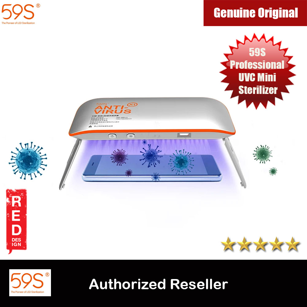 Picture of 59S Professional UVC Mini Sterilizer Portable Sterillizer X1 Kill Bacteria Effectively Sterillizer Red Design- Red Design Cases, Red Design Covers, iPad Cases and a wide selection of Red Design Accessories in Malaysia, Sabah, Sarawak and Singapore