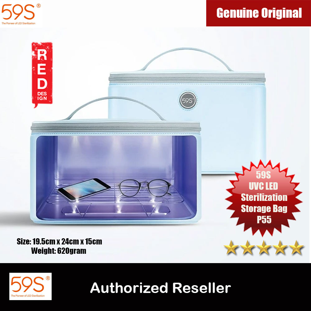 Picture of 59S UVC LED Sterilization Bag P55 Kill 99.9% of Germs Protect Your Family Kill Bacteria Effectively Sterillizer Red Design- Red Design Cases, Red Design Covers, iPad Cases and a wide selection of Red Design Accessories in Malaysia, Sabah, Sarawak and Singapore