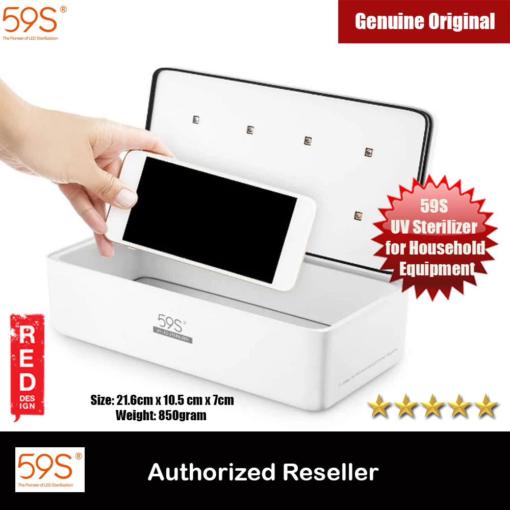 Picture of 59S UV Sterilizer for Household Equipment UV Light Sterilizer Box S2 Kill Bacteria Effectively Sterillizer Red Design- Red Design Cases, Red Design Covers, iPad Cases and a wide selection of Red Design Accessories in Malaysia, Sabah, Sarawak and Singapore