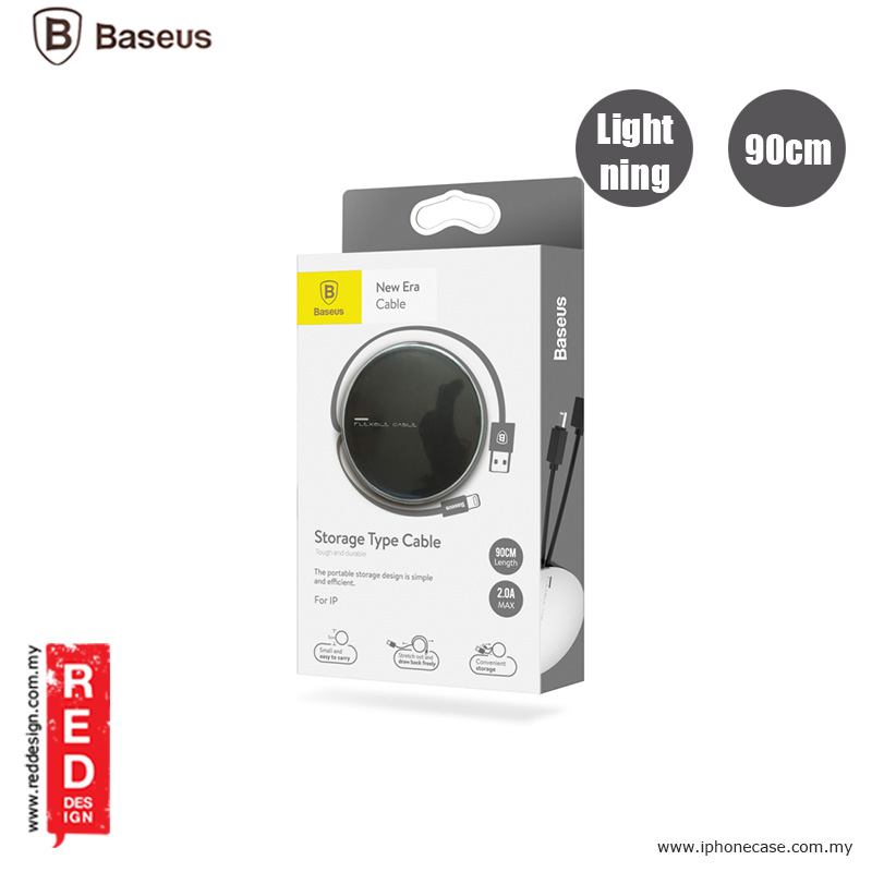 Picture of Baseus New Era Series Stretchable Lightning Cable 90cm - Black