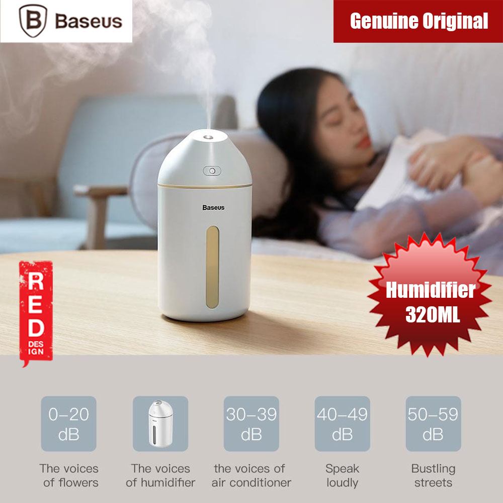 Picture of Baseus Cute Mini Humidifier (White) Red Design- Red Design Cases, Red Design Covers, iPad Cases and a wide selection of Red Design Accessories in Malaysia, Sabah, Sarawak and Singapore