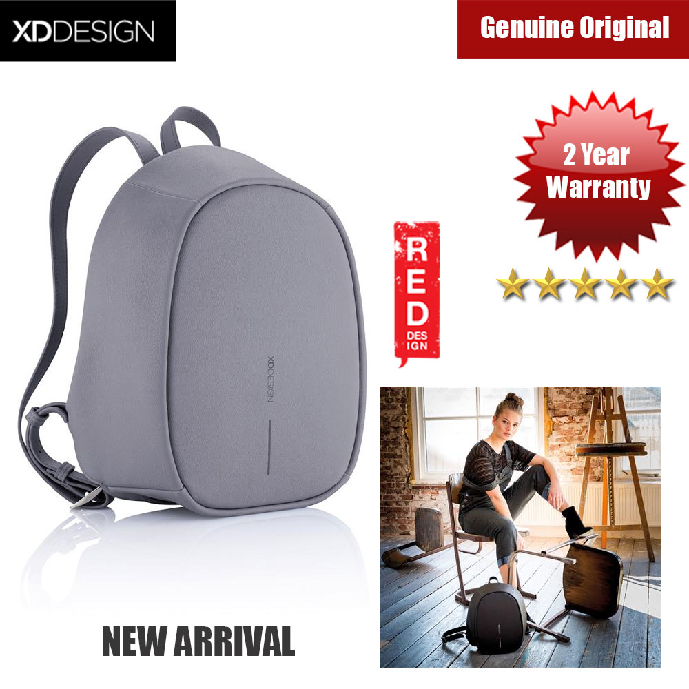 Picture of XD Design Bobby Elle Anti Theft Backpack (Grey) Red Design- Red Design Cases, Red Design Covers, iPad Cases and a wide selection of Red Design Accessories in Malaysia, Sabah, Sarawak and Singapore