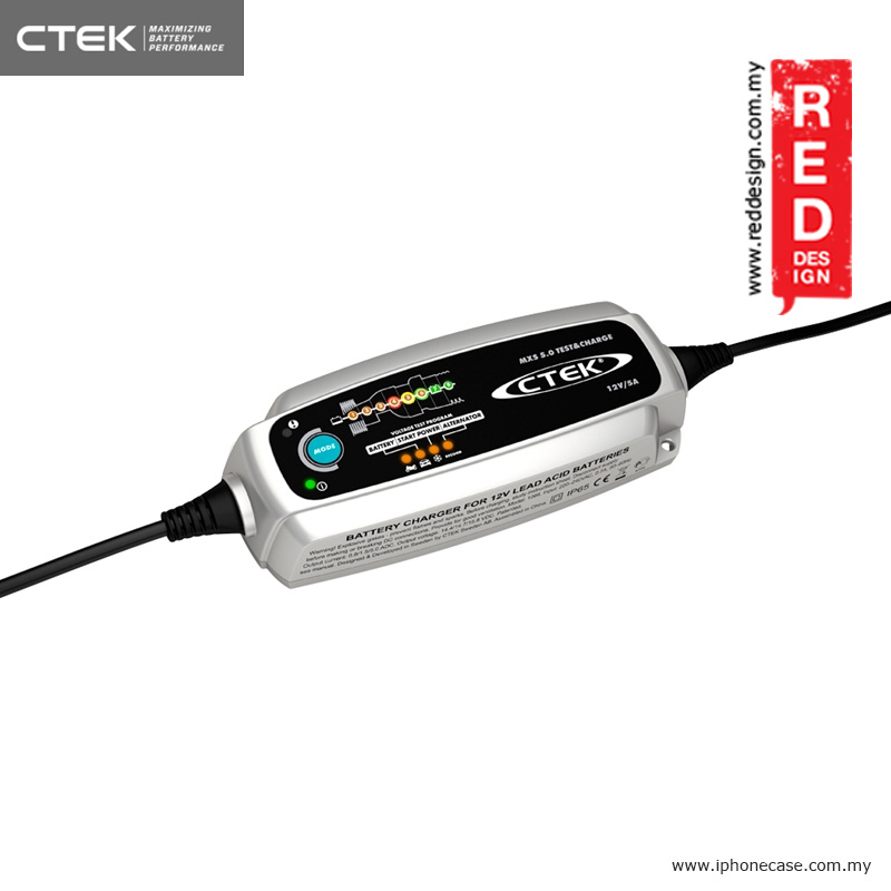 Picture of CTEK MXS 5.0 TEST & CHARGE UK Smart Battery Charger