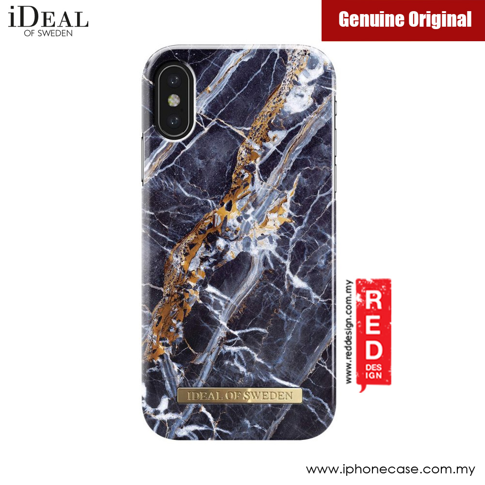 Picture of iDeal of Sweden Fashion Case for Apple iPhone X (Midnight Blue Marble) Apple iPhone X- Apple iPhone X Cases, Apple iPhone X Covers, iPad Cases and a wide selection of Apple iPhone X Accessories in Malaysia, Sabah, Sarawak and Singapore