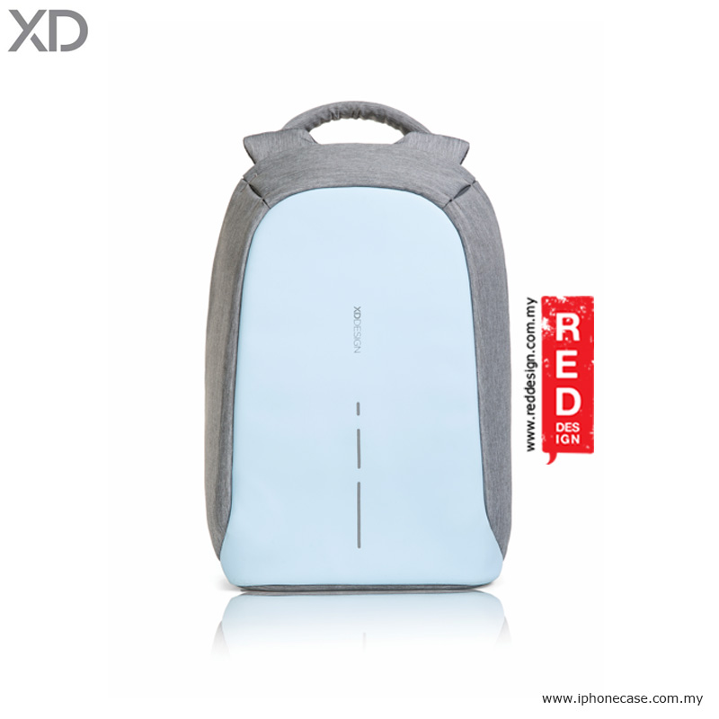 Picture of XD Design Bobby Compact Anti Theft Backpack - Pastel Blue Red Design- Red Design Cases, Red Design Covers, iPad Cases and a wide selection of Red Design Accessories in Malaysia, Sabah, Sarawak and Singapore