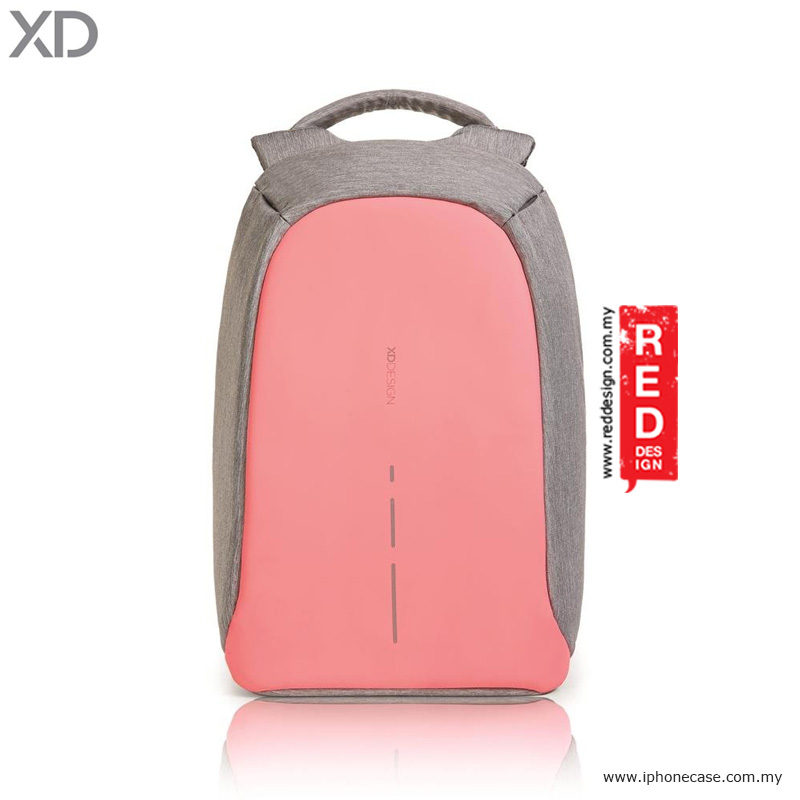 Picture of XD Design Bobby Compact Anti Theft Backpack - Pink Red Design- Red Design Cases, Red Design Covers, iPad Cases and a wide selection of Red Design Accessories in Malaysia, Sabah, Sarawak and Singapore