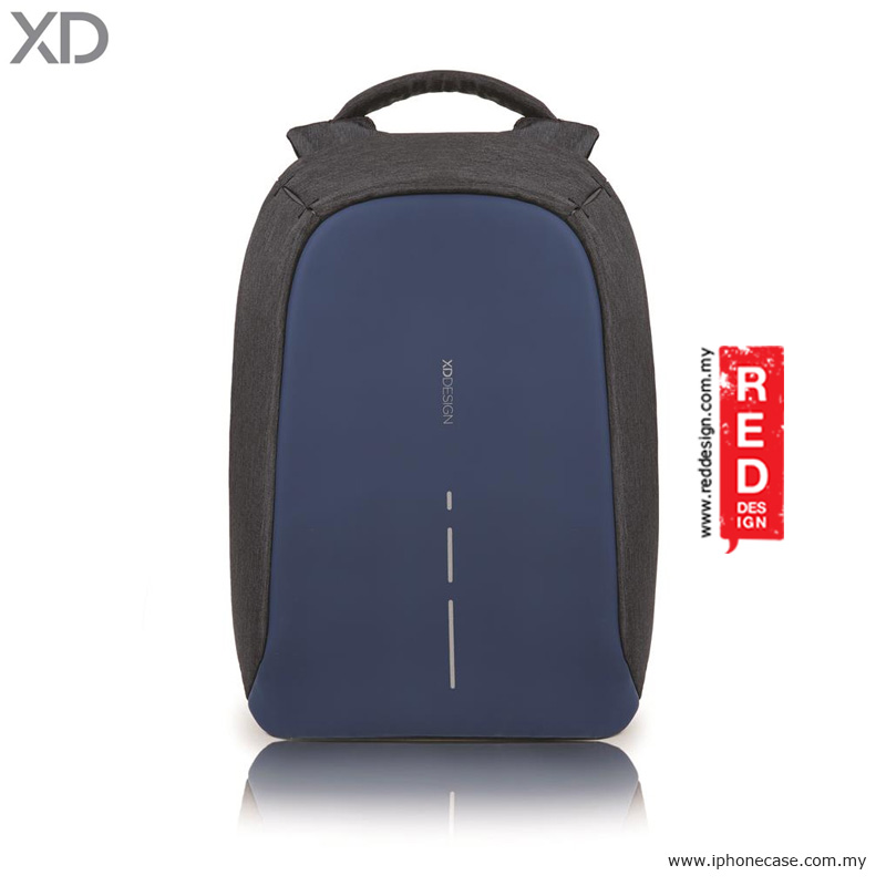 Picture of XD Design Bobby Compact Anti Theft Backpack - Diver Blue Red Design- Red Design Cases, Red Design Covers, iPad Cases and a wide selection of Red Design Accessories in Malaysia, Sabah, Sarawak and Singapore