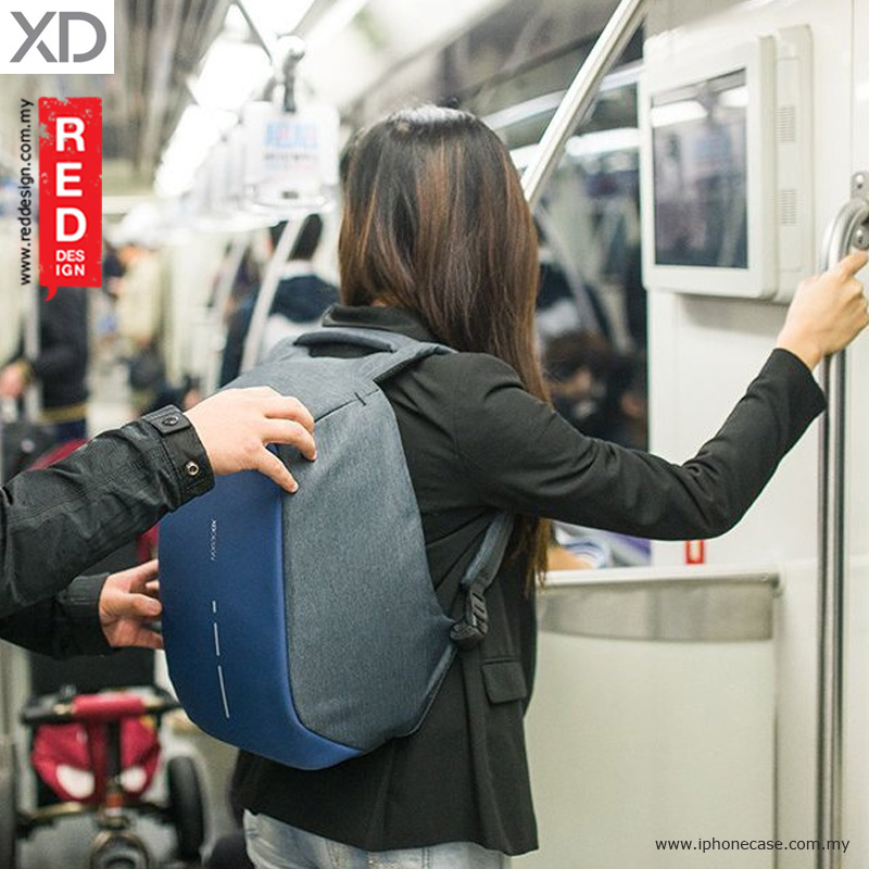 Picture of XD Design Bobby Compact Anti Theft Backpack - Diver Blue