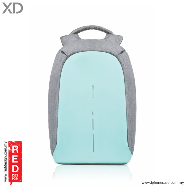 Picture of XD Design Bobby Compact Anti Theft Backpack - Mint Green Red Design- Red Design Cases, Red Design Covers, iPad Cases and a wide selection of Red Design Accessories in Malaysia, Sabah, Sarawak and Singapore