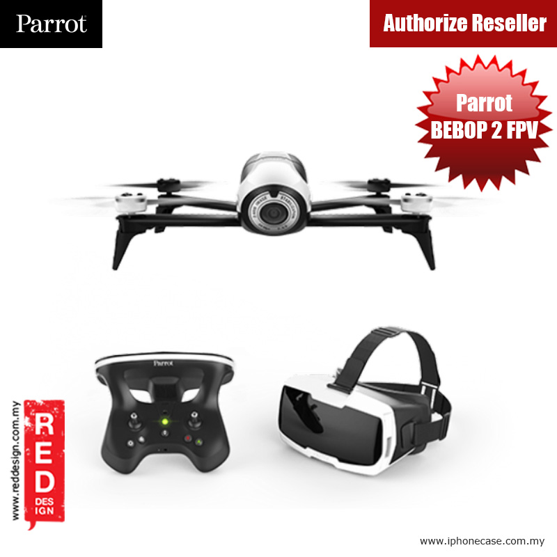 Picture of Parrot Pro Drone Bebop 2 Skycontroller 2 with FPV Red Design- Red Design Cases, Red Design Covers, iPad Cases and a wide selection of Red Design Accessories in Malaysia, Sabah, Sarawak and Singapore