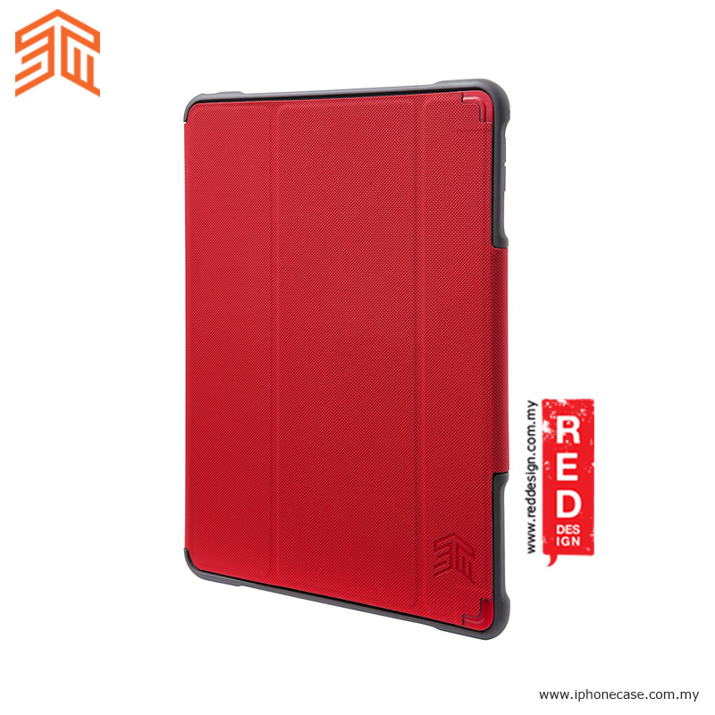 Picture of Apple iPad Pro 12.9 2017  | STM Dux Plus Ultra for iPad Pro 12.9 2017 iPad Pro 12.9 2015 (Red)