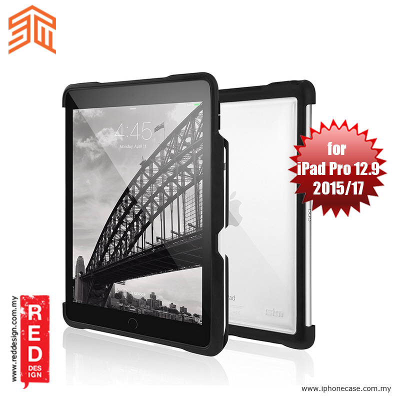Picture of STM Dux Shell Sleek Case for Apple iPad Pro 12.9 2017 2015 - Black Apple iPad Pro 12.9 2017- Apple iPad Pro 12.9 2017 Cases, Apple iPad Pro 12.9 2017 Covers, iPad Cases and a wide selection of Apple iPad Pro 12.9 2017 Accessories in Malaysia, Sabah, Sarawak and Singapore