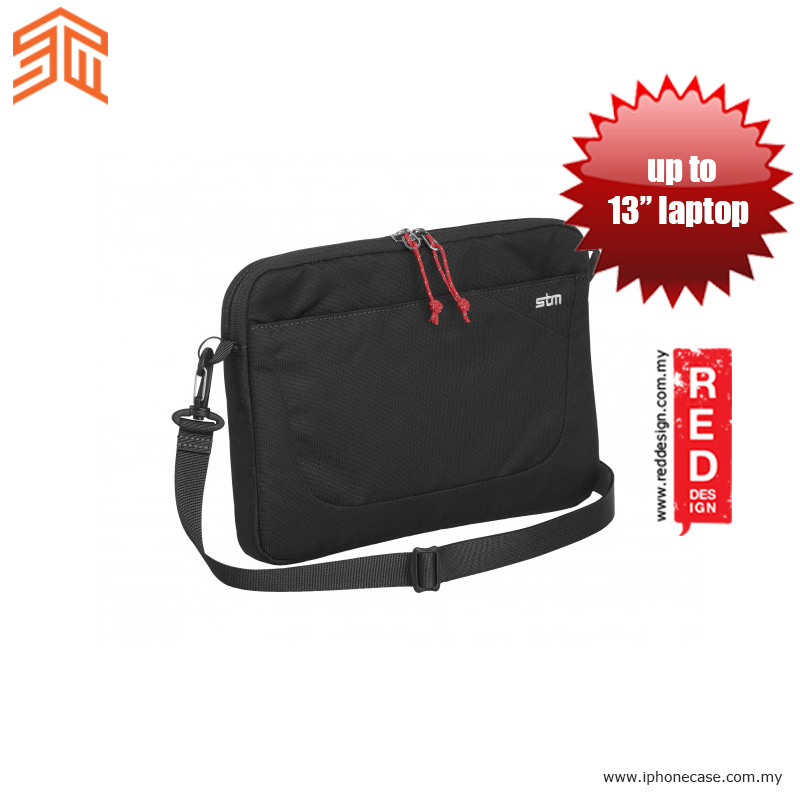 "Picture of STM Blazer laptop Sleeve up to 13"" - Black Red Design- Red Design Cases, Red Design Covers, iPad Cases and a wide selection of Red Design Accessories in Malaysia, Sabah, Sarawak and Singapore"