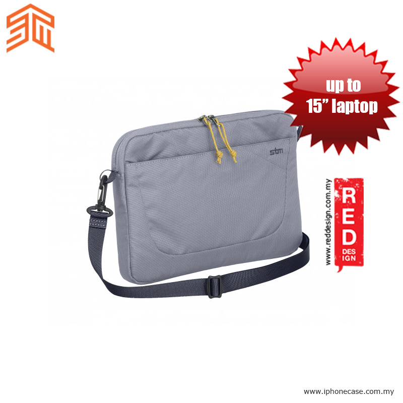 "Picture of STM Blazer laptop Sleeve up to 15"" - Frost Grey Red Design- Red Design Cases, Red Design Covers, iPad Cases and a wide selection of Red Design Accessories in Malaysia, Sabah, Sarawak and Singapore"