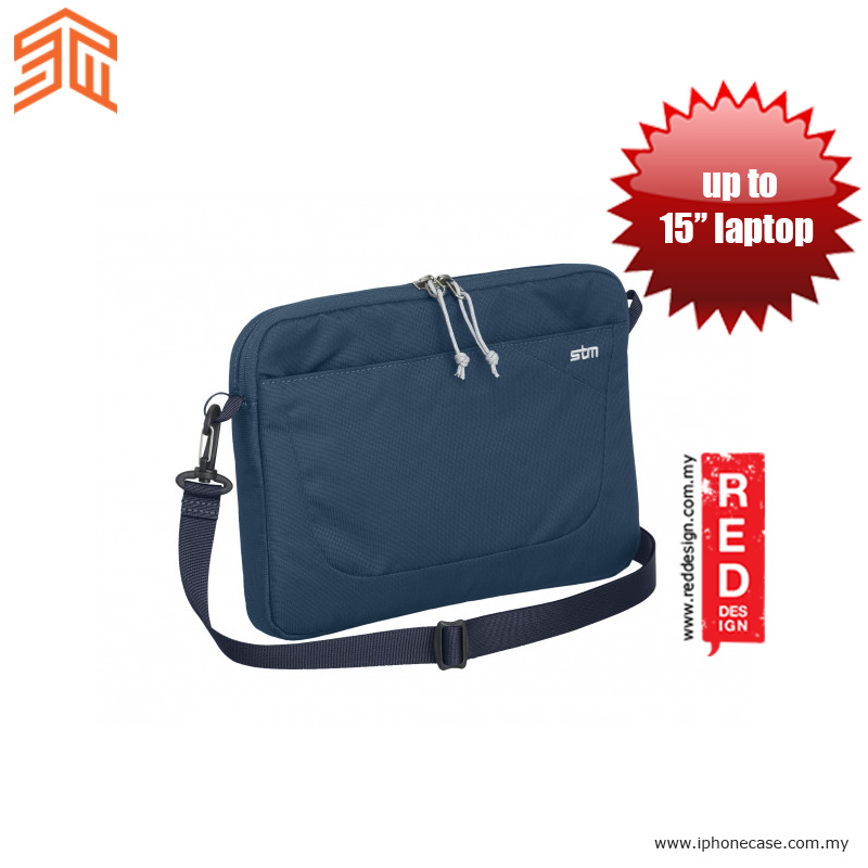 "Picture of STM Blazer laptop Sleeve up to 15"" - Moroccan Blue Red Design- Red Design Cases, Red Design Covers, iPad Cases and a wide selection of Red Design Accessories in Malaysia, Sabah, Sarawak and Singapore"