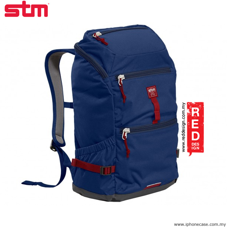 "Picture of STM drifter 15"" laptop backpack - Navy Red Design- Red Design Cases, Red Design Covers, iPad Cases and a wide selection of Red Design Accessories in Malaysia, Sabah, Sarawak and Singapore"