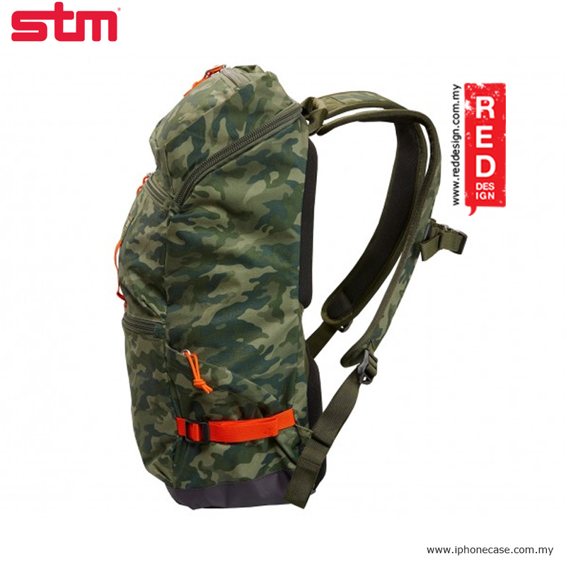 "Picture of STM drifter 15"" laptop backpack - Green Camo"