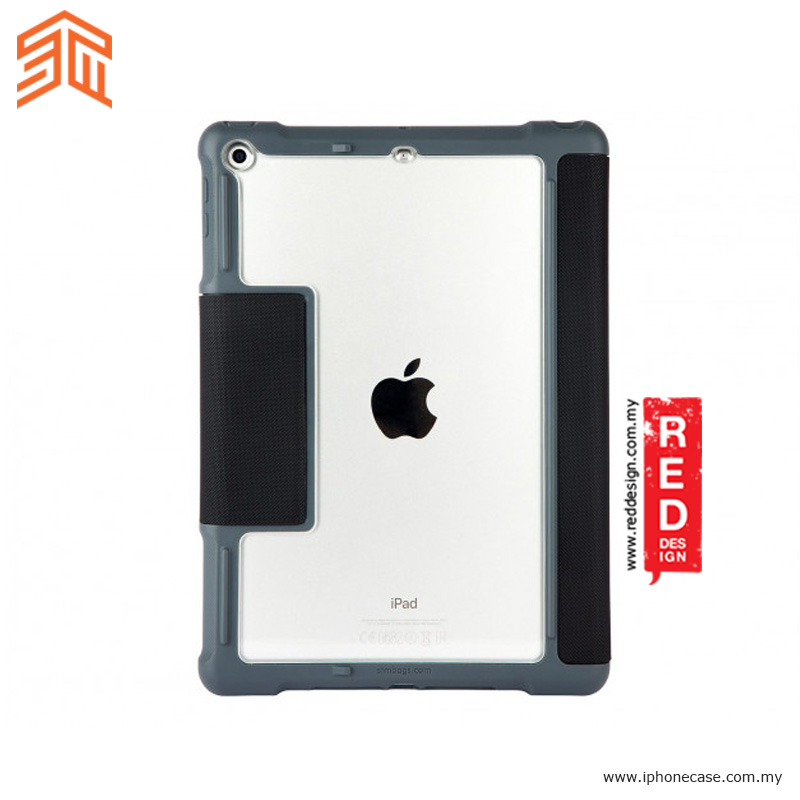 Picture of Apple iPad 9.7 2017 Case | STM Dux Military Grade Protection Case for Apple iPad 9.7 2017 - Black