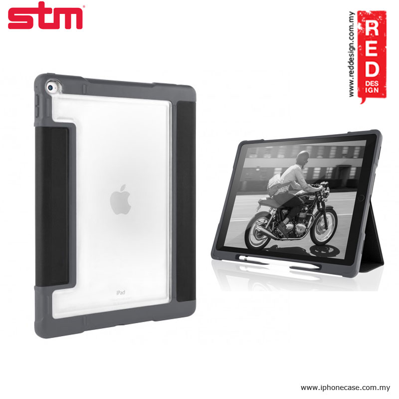 Picture of STM Dux Plus Military Grade Drop Protection Flip Cover Case for Apple iPad Pro 9.7 - Black Apple iPad Pro 9.7- Apple iPad Pro 9.7 Cases, Apple iPad Pro 9.7 Covers, iPad Cases and a wide selection of Apple iPad Pro 9.7 Accessories in Malaysia, Sabah, Sarawak and Singapore