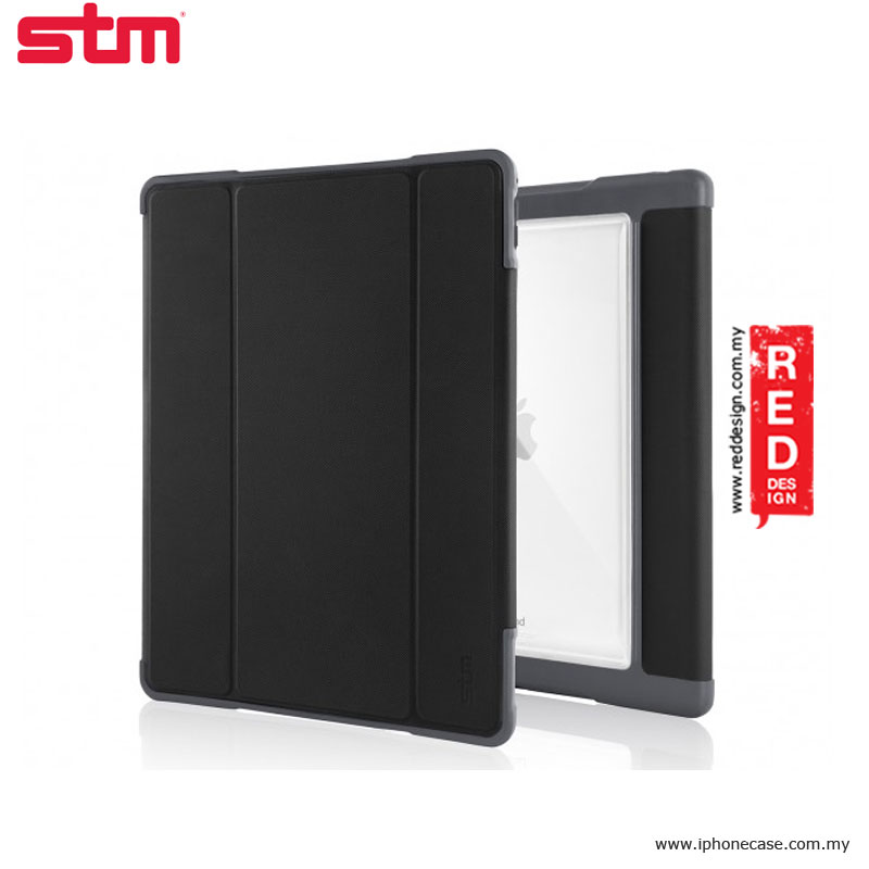 Picture of Apple iPad Pro 9.7 Case | STM Dux Plus Military Grade Drop Protection Flip Cover Case for Apple iPad Pro 9.7 - Black