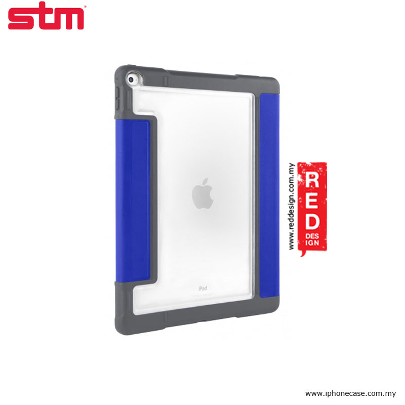 Picture of Apple iPad Pro 9.7 Case | STM Dux Plus Military Grade Drop Protection Flip Cover Case for Apple iPad Pro 9.7 - Blue