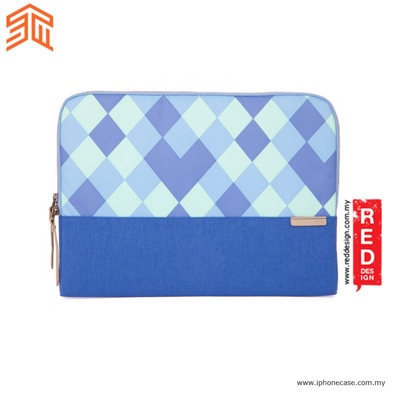 "Picture of STM Grace laptop Sleeve up to 13"" - Blue Diamonds"