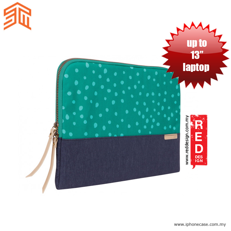"Picture of STM Grace laptop Sleeve up to 13"" - Tear Dots"