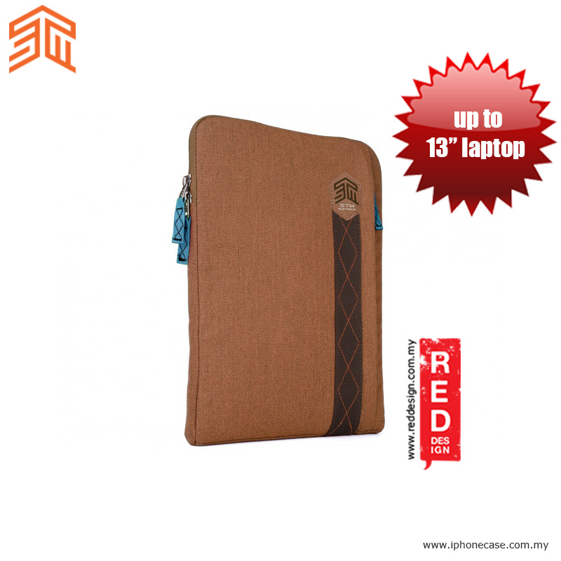 "Picture of STM Ridge laptop Sleeve up to 13"" - Desert Brown Red Design- Red Design Cases, Red Design Covers, iPad Cases and a wide selection of Red Design Accessories in Malaysia, Sabah, Sarawak and Singapore"
