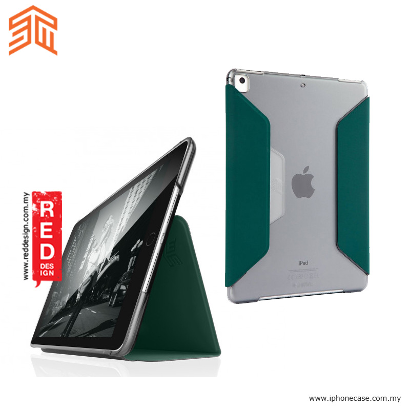 Picture of STM Studio Protection Stand Case for Apple iPad 9.7 2017 2018 iPad Pro 9.7 iPad Air iPad Air 2- Green Apple iPad Pro 9.7- Apple iPad Pro 9.7 Cases, Apple iPad Pro 9.7 Covers, iPad Cases and a wide selection of Apple iPad Pro 9.7 Accessories in Malaysia, Sabah, Sarawak and Singapore